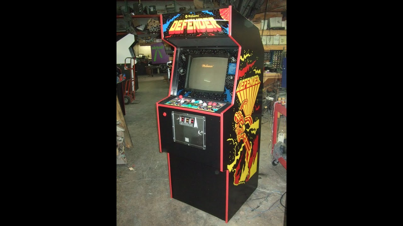 458 Williams DEFENDER Arcade Video Game--Our 88th Sold! TNT ...