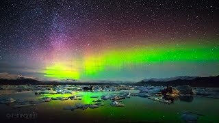 Northern Lights - Aurora Borealis Timelapse