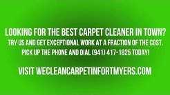 Local Carpet Cleaning Services in Punta Gorda, FL.