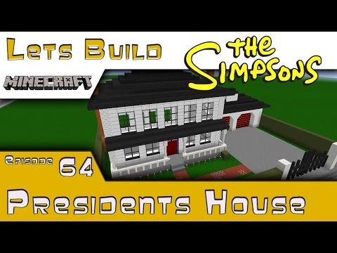 Minecraft :: Springfield Lets Build :: Presidents House :: E64