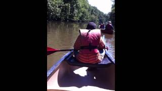 Canoe Trip in Bolivar on the Tuscarawas River