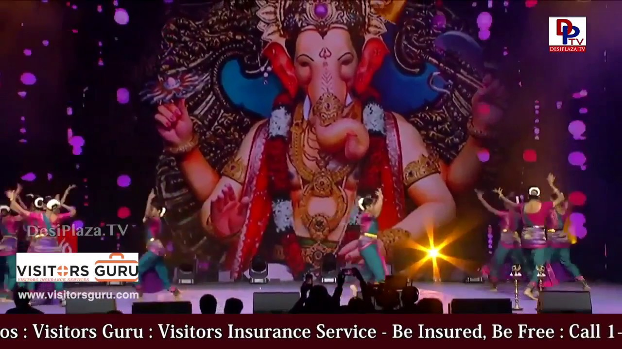 Dance perfomance for  Maha Ganapathi |Desiplaza TV