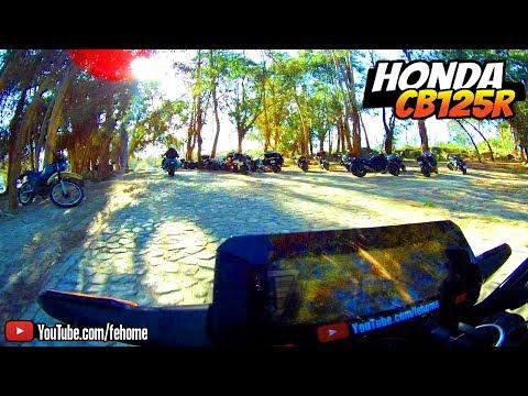 🏍 Honda CB125R - Dog's Land Aniversário, Alcains - Stª Apolónia (HawKeye Firefly 8S)