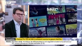 Les Groupes France Télévisions, M6 et TF1 lancent SALTO