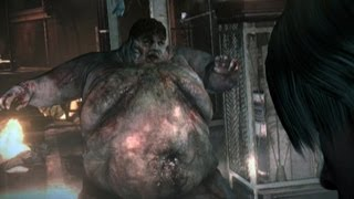 Fat Boy Fight - Resident Evil 6 Gameplay (Spoilers)