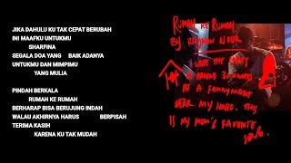 Hindia - Rumah Ke Rumah (Official Lyric & Commentary Video)