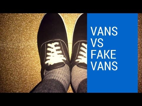 Vans vs Fake Vans from Amazon| unboxing | men's fashion