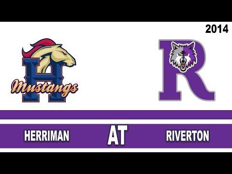 Football: Herriman at Riverton High School Utah 2014