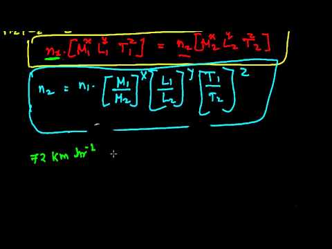 3rd Use Dimensional Equation   To Convert Value of  One System of Unit To Another