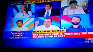 17.09.14 Subramanian Swamy Ripping Apart Mr Arrogant Arnab Gos…