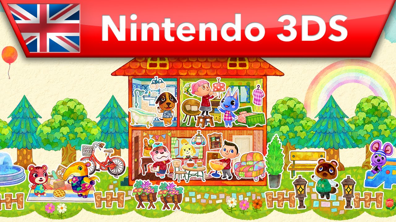 Animal crossing happy home designer launch trailer for 7 11 happy home designer