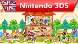 Animal Crossing: Happy Home Designer - Launch Trailer (Nintendo 3DS)