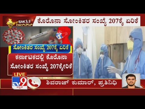 Karnataka Reports 10 New Coronavirus Cases And Total Effected Cases Increases To 207 Members
