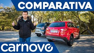 Dacia Duster 2018 vs Suzuki Vitara - Comparativa / Review / Prueba / Test en español | Carnovo