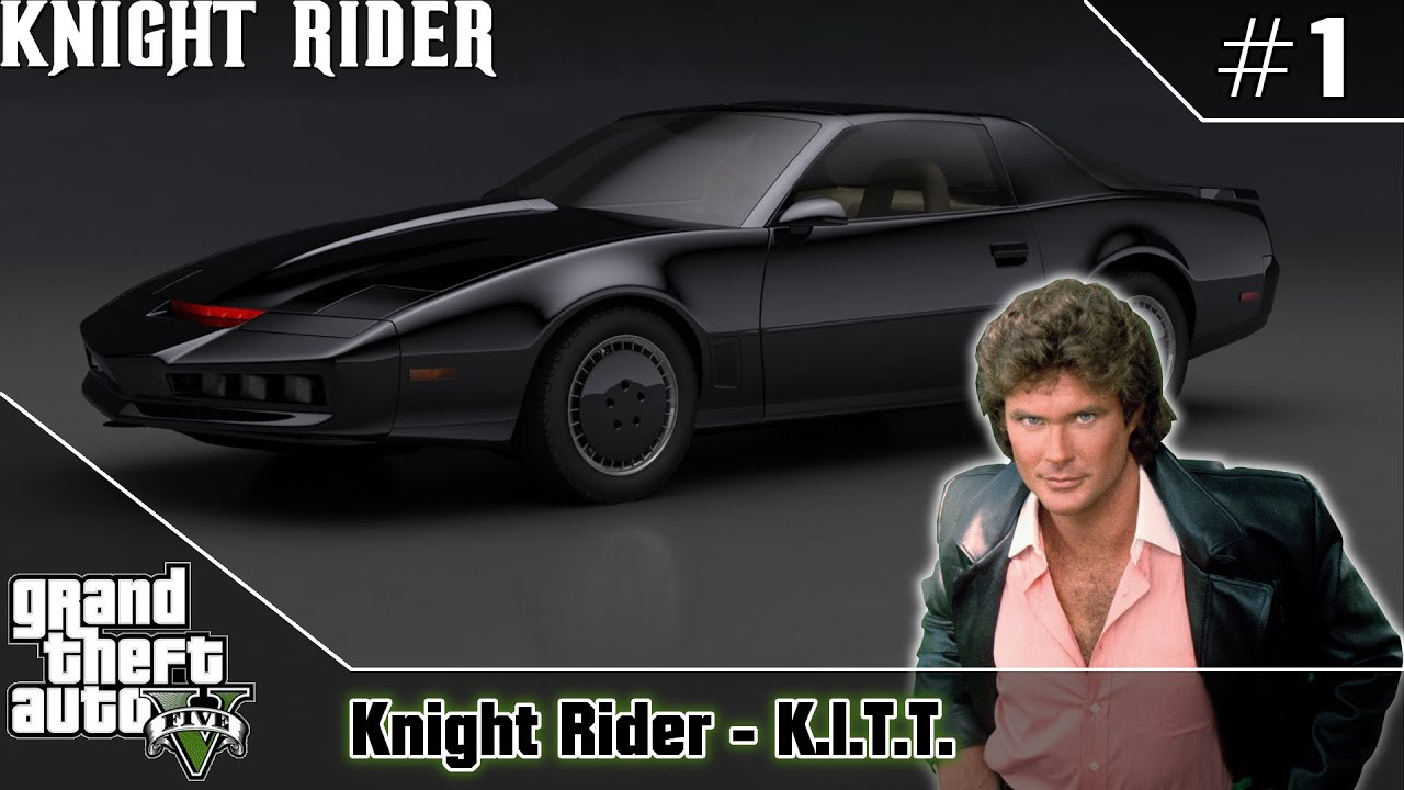 Gta 5 Knight Rider K I T T Pontiac Firebird Trans Am