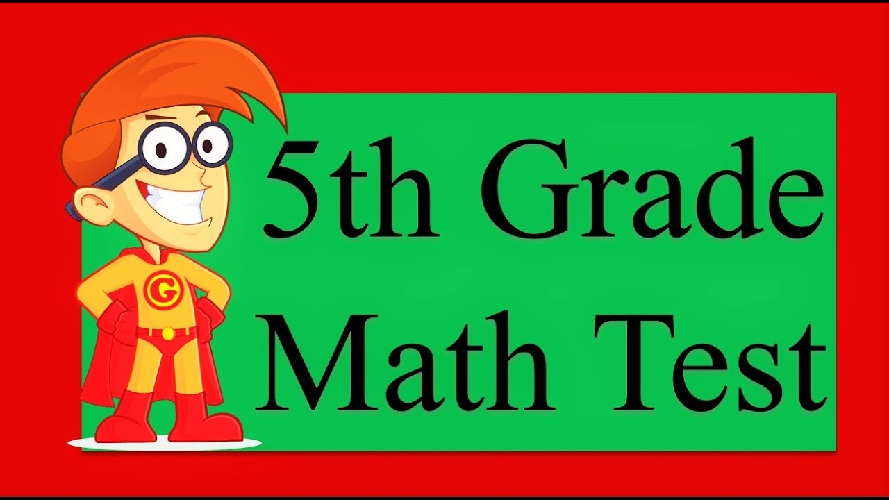10 Questions of 5th Grade Math Test | 90% People Fail on Simple Math Test - YouTube
