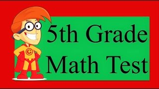 10 Questions of 5th Grade Math Test | 90% People Fail on Simple Math Test