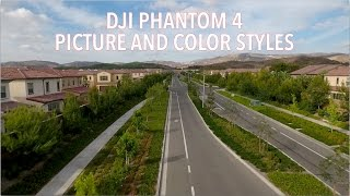 Phantom 4 - Picture Styles and Color