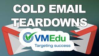 SaaS for Udemy Instructors - Cold Email Teardown - VMEdu