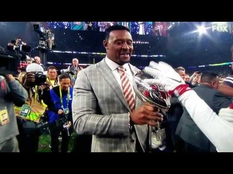Super Bowl LI - Willie McGinest curses on live tv