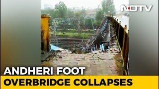 5 Injured After Part Of Bridge Collapses At Mumbai's Andheri Station