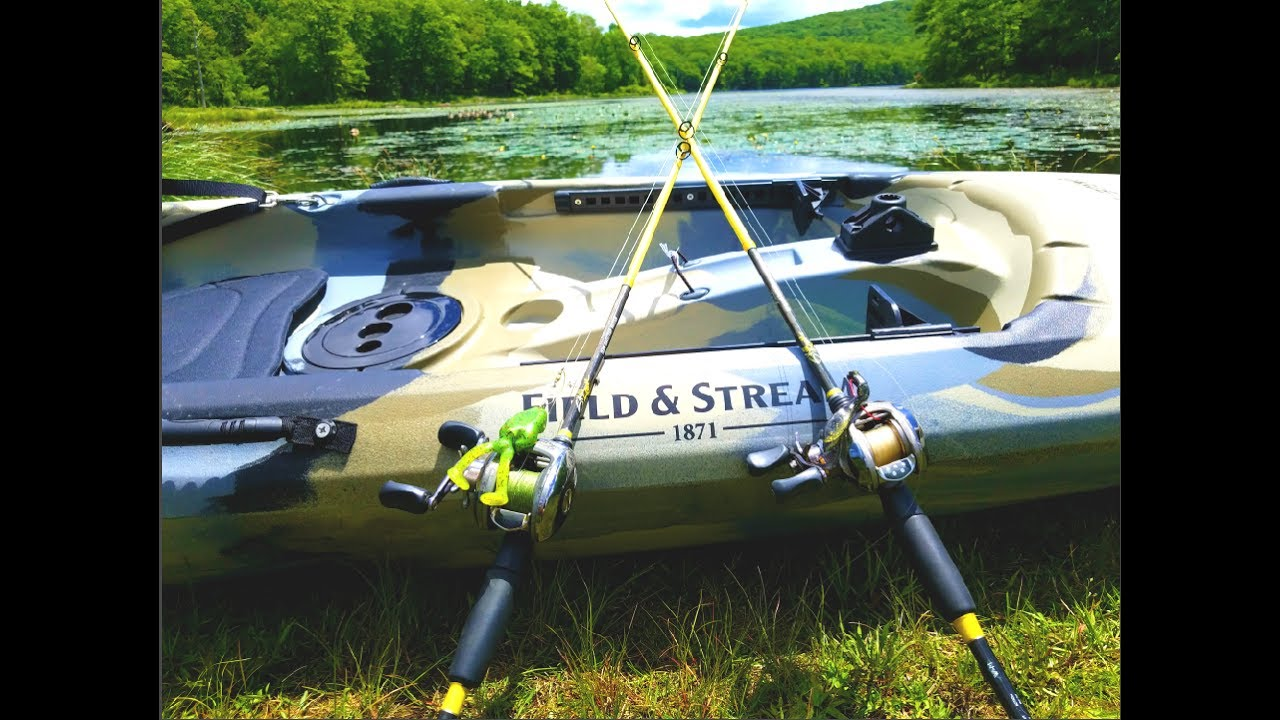 Field Stream Eagle Talon 12 Review Beginner Fishing Kayak Watch