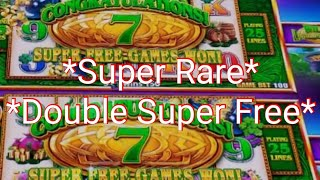 *Never Seen On YouTube* Double Super Free Games Tall Fortunes Leprecoins* Big Win On 5 Dragons Grand