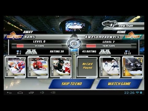 Big Win NHL Hockey - Android and iOS GamePlay - YouTube