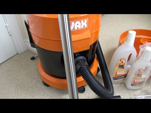 Vax 121 Multipurpose Vacuum Cleaner Unboxing & Brief Demonstration