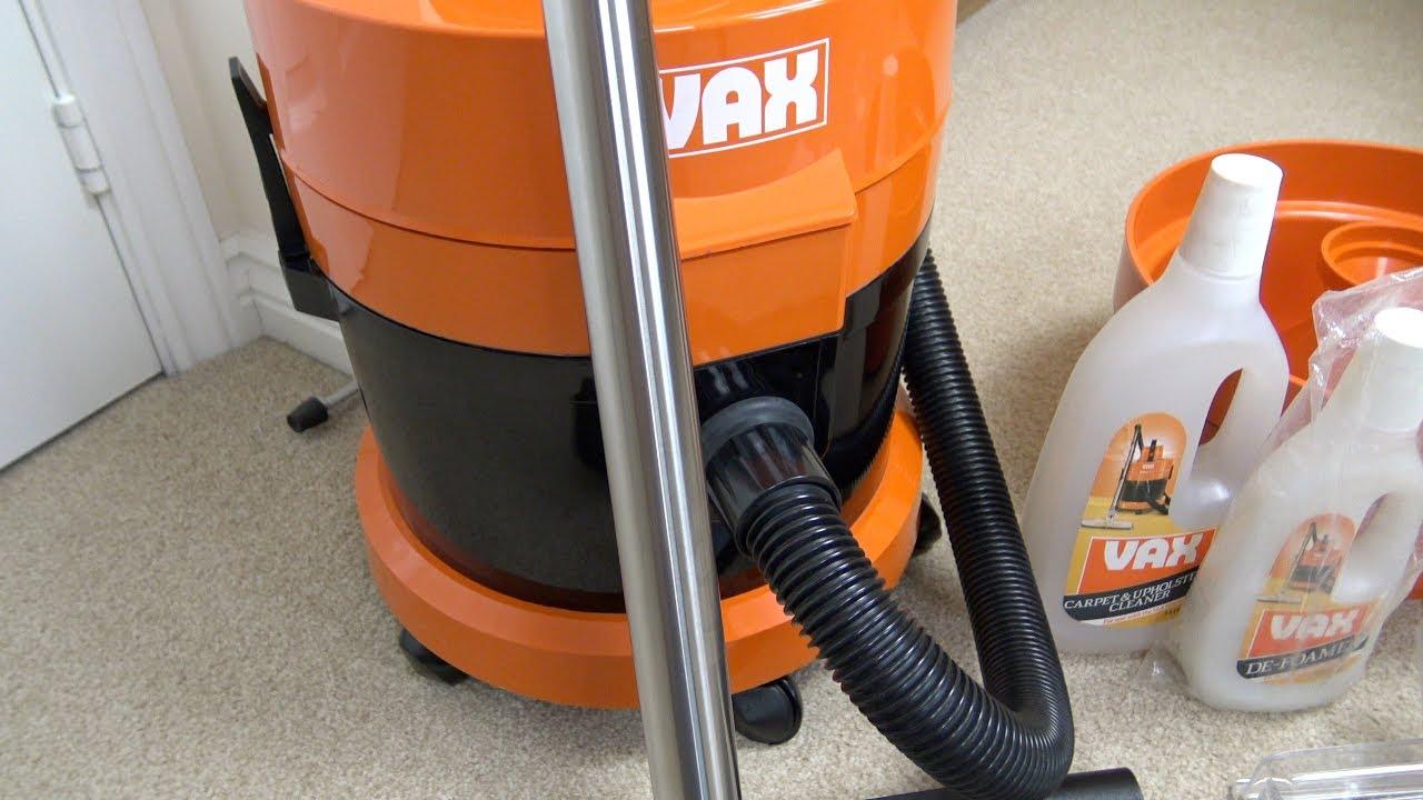 Vax 121 Multipurpose Vacuum Cleaner Unboxing Brief Demonstration