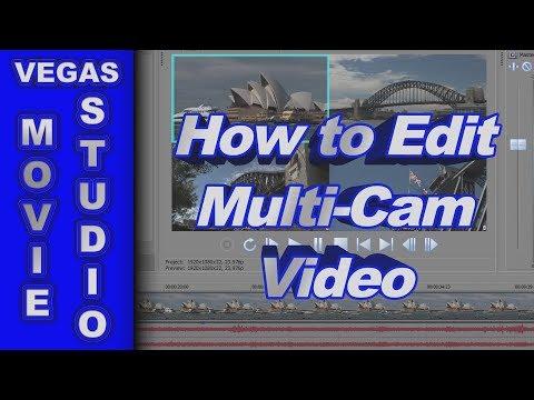 How to Edit Multi-Cam Video with Movie Studio Platinum 13