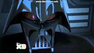 Star Wars Rebels Darth Vader and Emperor Palpatine.