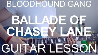 Guitar video lesson #131 Bloodhound Gang: The Ballad Of Chasey Lane