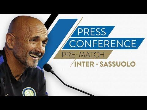 INTER vs SASSUOLO   Luciano Spalletti Pre-Match Press Conference LIVE