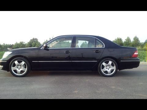SOLD.2006 LEXUS LS430 SEDAN 139K BLACK FOR SALE AT WILSON COUNTY MOTORS LEBANO N, TN - YouTube