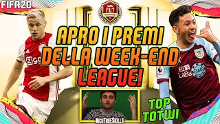 APRO I PREMI DELLA WEEK-END LEAGUE + RIVALS SU FIFA 20 ULTIMATE TEAM!