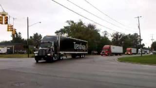 2010 Michigan Special Olympics Truck Convoy 09182010.3gp