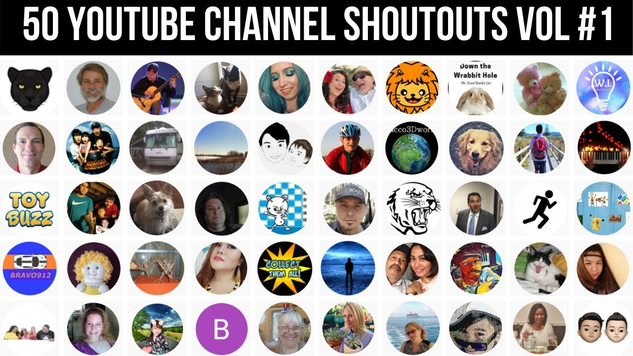 Download VOL 1: 50 AMAZING YOUTUBE CHANNELS TO NETWORK WITH #IAmACreator