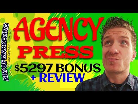 AgencyPress Review 📌Demo📌$5297 Bonus📌Agency Press Review📌📌📌