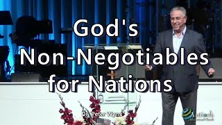 God's Non Negotiables for Nations with Dr .Peter Wyns