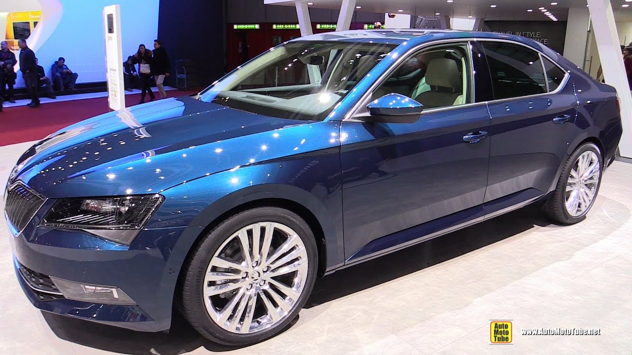2016 skoda superb style 2 0 tdi 150hp exterior and interior walkaround 2015 geneva motor. Black Bedroom Furniture Sets. Home Design Ideas