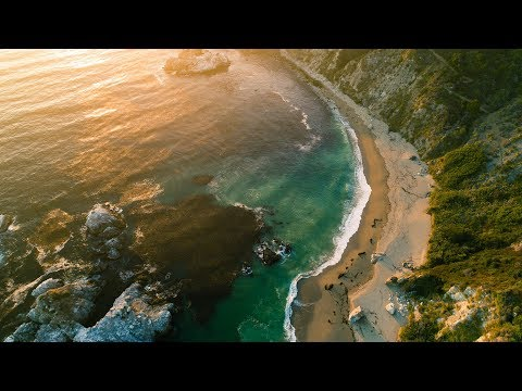 4K DRONE FOOTAGE OF THE MOST BEAUTIFUL SPOT ON CALIFORNIA'S COAST