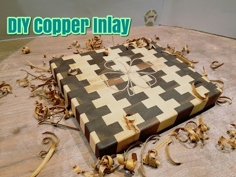 How To Make a Copper Inlay