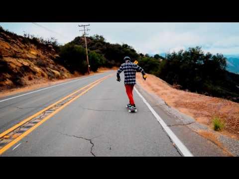 Malibu, CA Downhill Skating with Nick Broms Josh Newman and Adrien Paynel