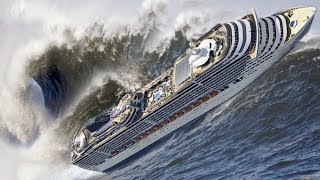 18 Crazy Videos Of Cruise Ships Caught In Massive Storms