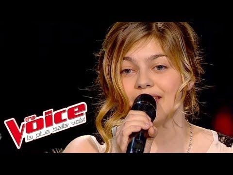 Carla Bruni – Quelqu'un m'a dit  Louane Emera  The Voice France 2013  DemiFinale