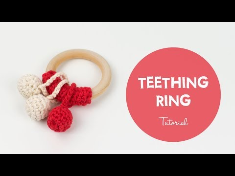 How To Make A Very Easy Crochet Teething Ring for Beginners | Croby Patterns