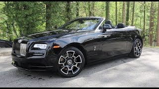 2018 Rolls-Royce Dawn Black Badge Technical Review