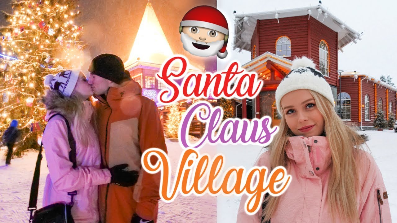 My Christmas Dream.My Christmas Dream Travelling To Santa Claus Village In Lapland