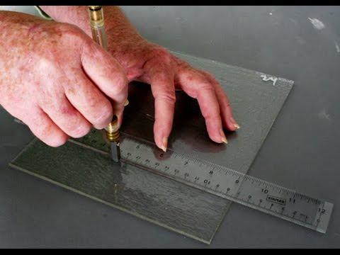 Как резать стекло правильно. Технология резки стекла в домашних условиях. Резка стекла своими руками
